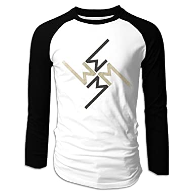 Amazon Boys Marilyn Manson Symbol Long Sleeve Raglan Baseball
