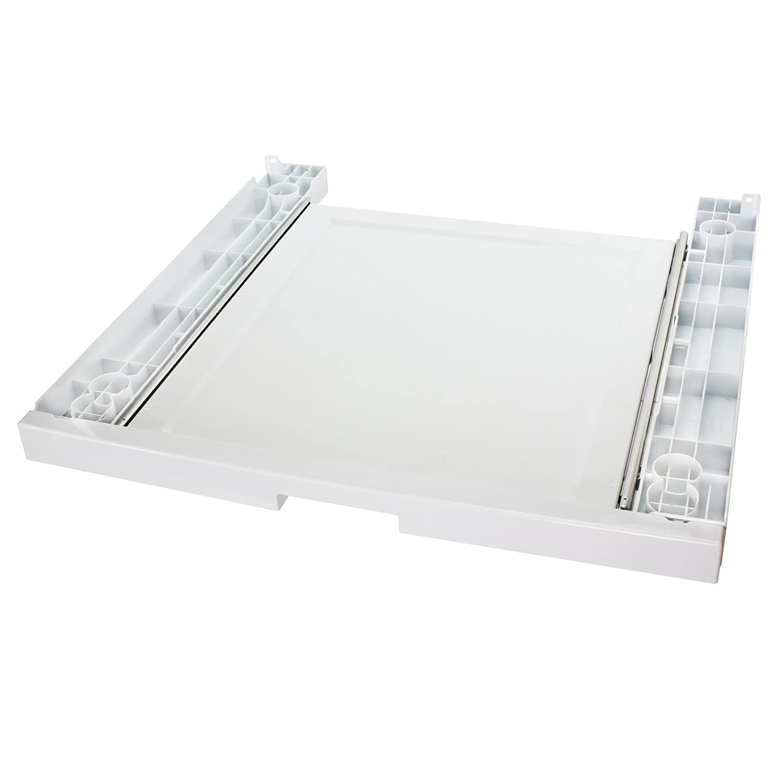 SPARES2GO Shelf Stacker Stacking Tray Kit Pullout for BEKO Washing Machine//Tumble Dryer