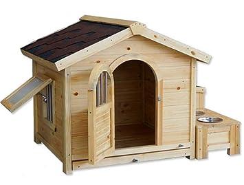 Bonwg Jerarquía del Animal doméstico/Perrera / tamaños/Madera / de Perro/ Exterior