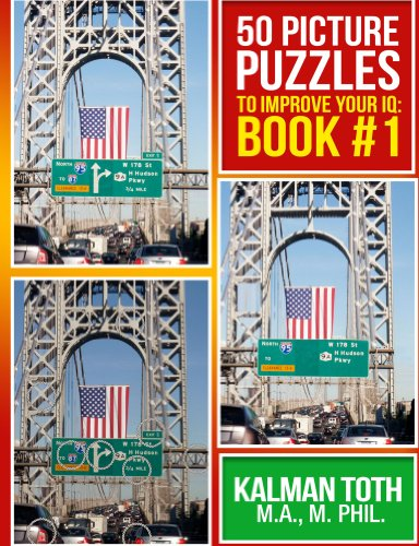 50 Picture Puzzles to Improve Your IQ: Book #1 (COLOR PICTURE PUZZLE) (English Edition)