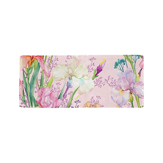 Amazon.com: Cartera con diseño de mariposa con flores para ...