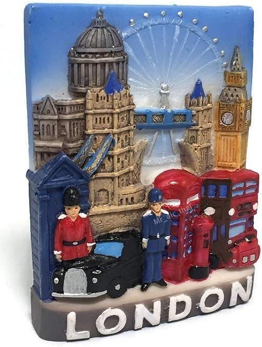 London Big Ben 7 cm Fridge Metall Magnet Souvenir,Großbritannien