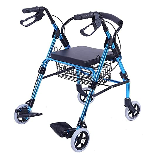 LXDDJZXQ Andador para Ancianos Walker, Carro de Compras ...
