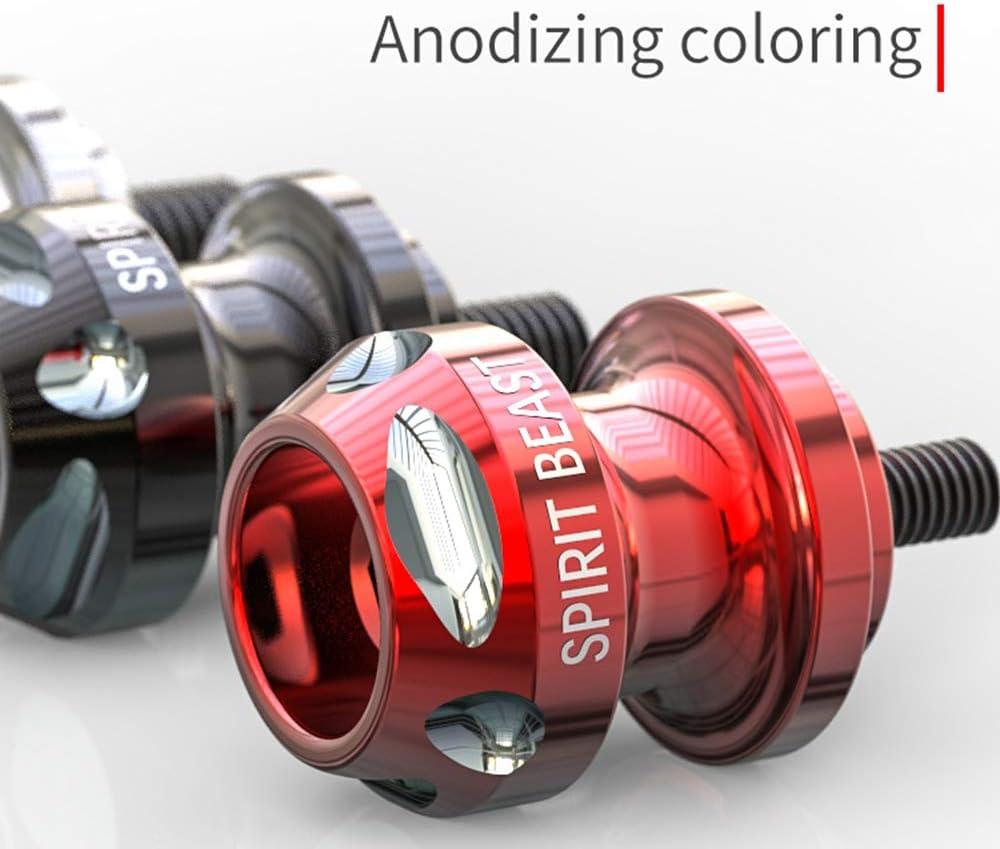 CarThree 8MM Swingarm Spools Sliders CNC Swing Arm Stand Screw for Honda Suzuki Ducati Kawasaki Yamaha BMW-Red