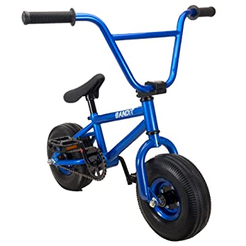 RayGar Bandit - Mini bicicleta BMX - Azul