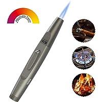 TECBOSS Encendedor de antorcha, Encendedor Ajustable Jet Flame