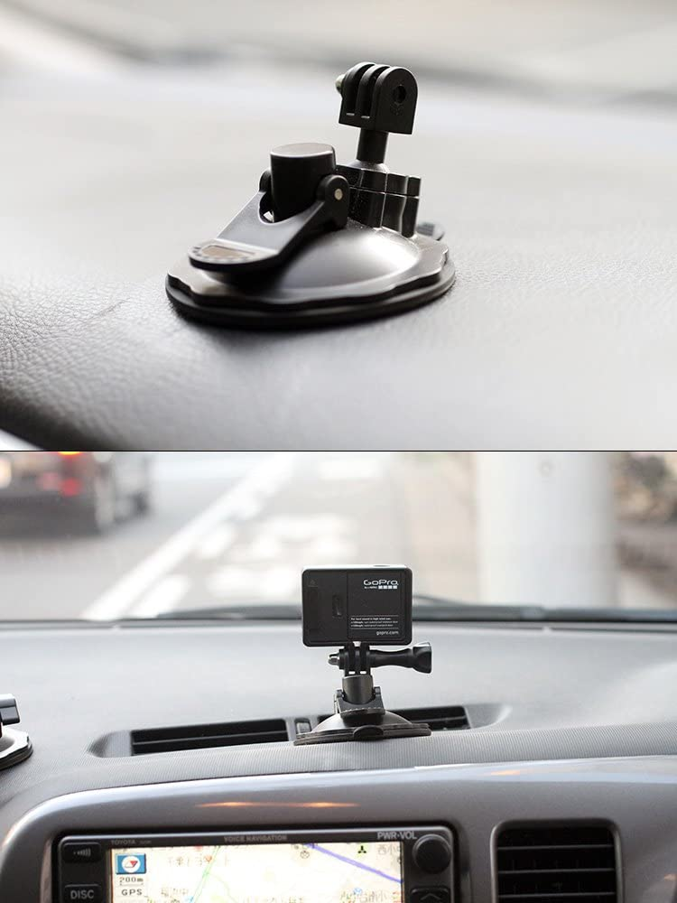 Gel Material Rec-mountsCompact Suction Cup Mount for Gopro Camera rec-b01g