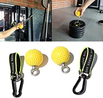 Hand Grip Strength Ball PullUps Hanging Climbing Strong Arm Cannonball 300kgLoad
