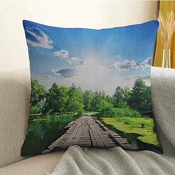 Amazon.com: Funda de almohada personalizada con diseño de ...