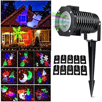 Halloween Christmas Outdoor Indoor Night Projector Lights