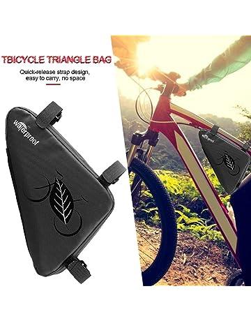 Bolsas para bicicleta Marco de bicicleta Bolsa de triángulo Bicicleta Bicicleta de montaña Bolsa de tubo