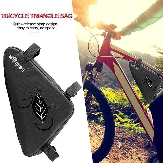 Bolsa De Bicicleta Bolsa De Sillín Triángulo Bolsa De Bicicleta De ...