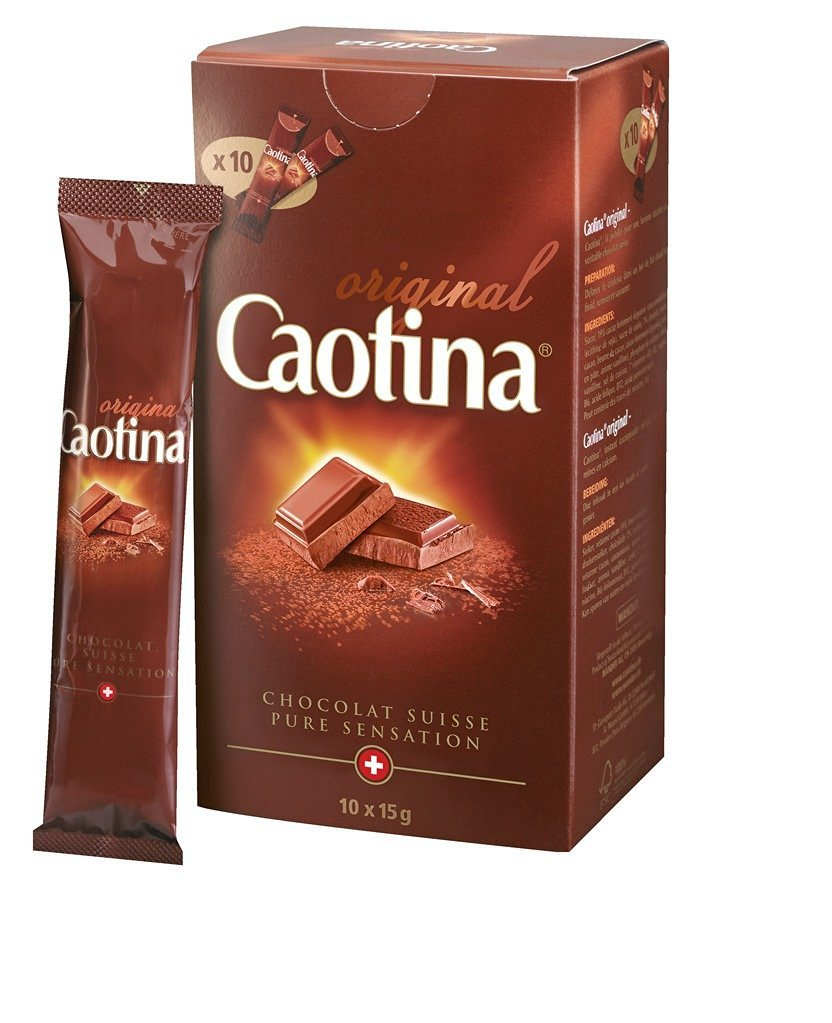 Caotina original hot chocolate sticks (10x15g)