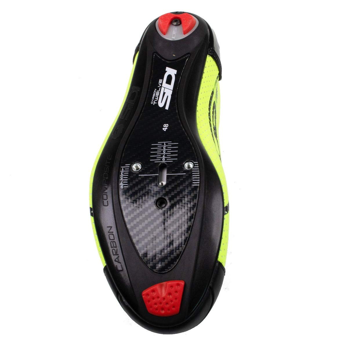 Amazon.com: Sidi T4 Air Carbon Triathlon Shoe Yellow Fluo ...