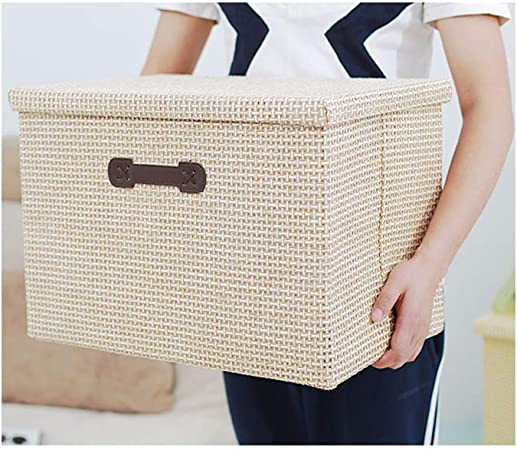 cajas almacenaje de tela con tapa ikea