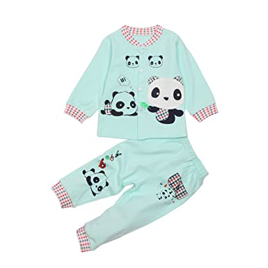 6f6854421c61 Amazon.com  Baby Girl Clothes Infant Outfits 2pcs with Long Sleeved ...