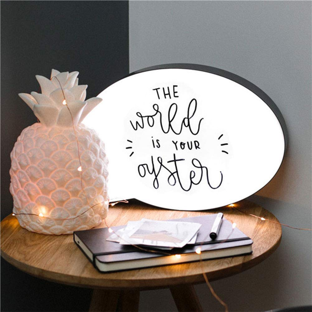 Uscyo LED Handwriting Light Box, Drawing Box, LED Screen Writing Message Board for Interior Decoration, Mood Lighting, Night Light, Party and Home Decoration by Uscyo (Image #7)