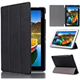 Asus Zenpad 10 Cases TopAce PU Leather Smart Case With Stand Function For Asus Zenpad 10 Z300M / Z300C (Black)