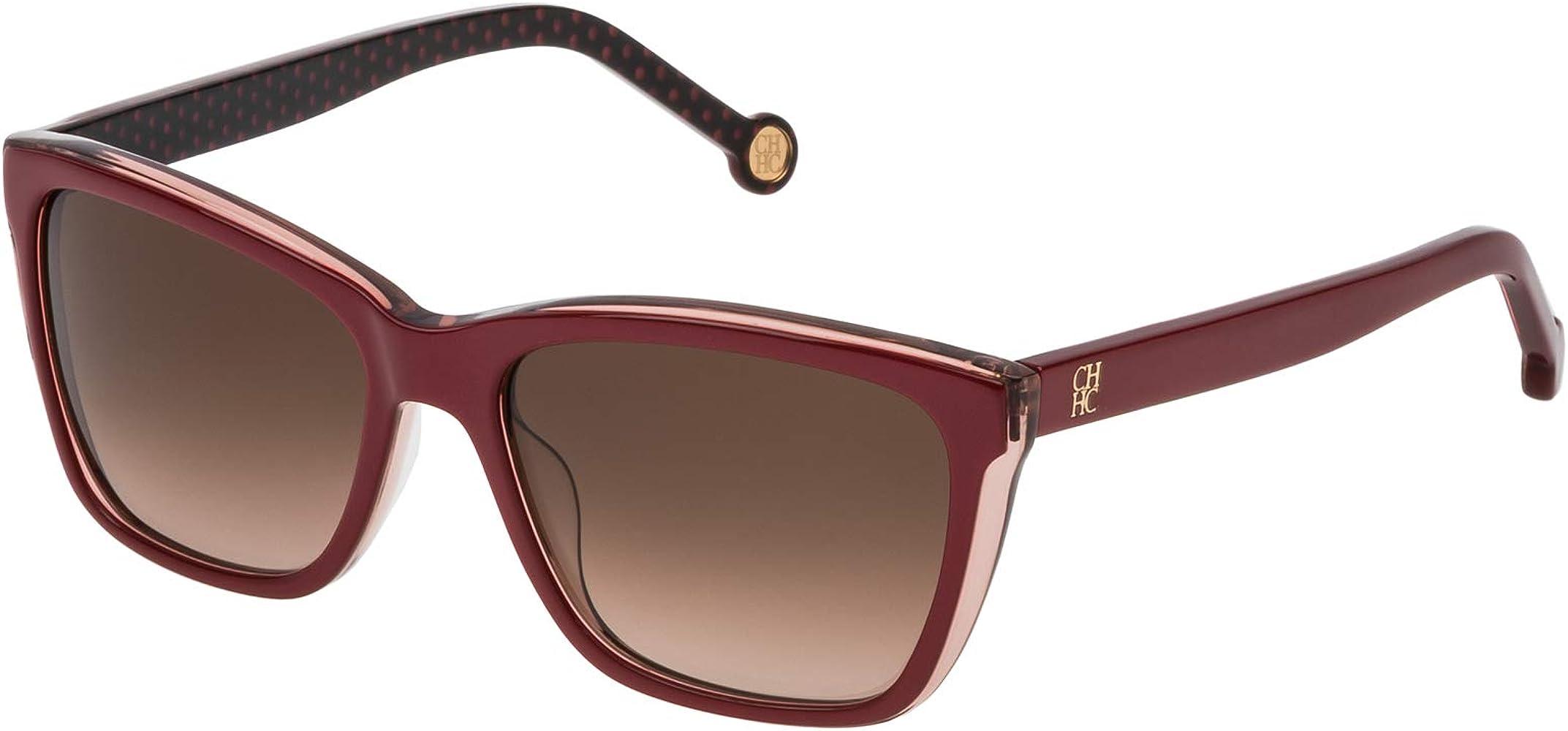 Carolina Herrera SHE69555B42Y Gafas de Sol, Rojo, 55 para Mujer: Amazon.es: Ropa y accesorios