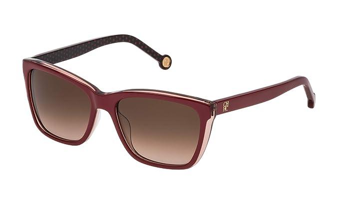 Carolina Herrera SHE69555B42Y Gafas de Sol, Rojo, 55 para ...