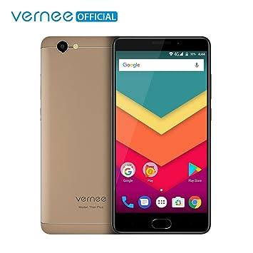 Teléfono Móvil Libre,Vernee Thor Plus 4G LTE Dual Sim Smartphone Libre,Pantalla AMOLED de 5.5 pulgadas,Android 7.0 Octa-Core,3GB de RAM y 32GB de ...