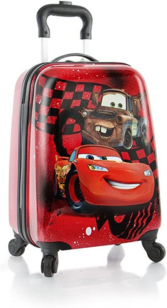 Disney Kids Spinner Luggage – Cars Carry on Suitcase 18 Inch