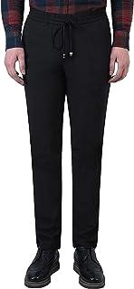 Uomo di Sport Chinos di Autunno della dei Completo Pantaloni Molla Pantaloni in Tessuto di Colore Tratto Solidi con Coulisse Pantalone Jogger Pantaloni