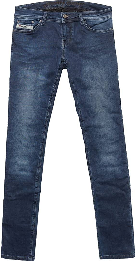 John Doe Betty Vintage Slim Damen Jeanshose 32 Indigo L34 Bekleidung