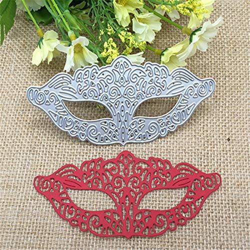 2.3x4.7inch Halloween Mask 2019 New Die Cuts Metal Cutting Die Craft Die for Scrapbooking Card Making]()