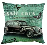 Music Car Pillow Shams 20 X 30 Inches / 50 By 75 Cm For Dance Room,teens,study Room,floor,car,wedding With Two Sides
