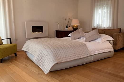 aerobed luxury inflatable guest bed