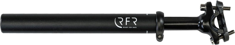Black 30.9 mm x 400 mm RFR gefederte Fahrrad Sattelstütze 80-120 kg