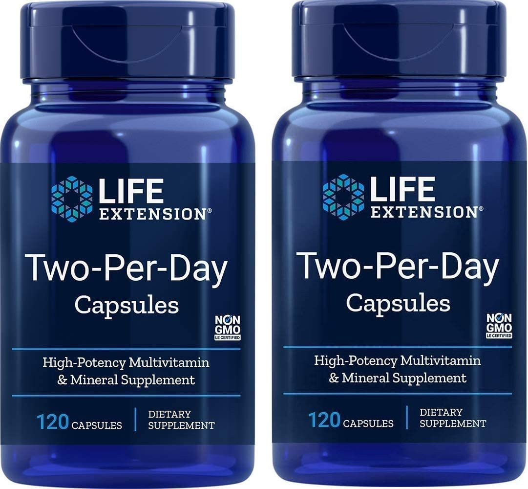 Life Extension Two Per Day Capsules, 120…
