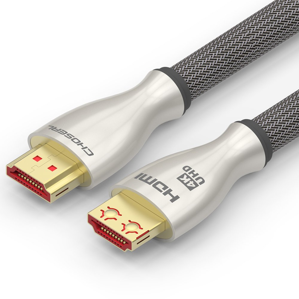 Choseal HDMI 2.0 Cable,Ethernet, 3D, 4K and Audio Return For TV,Computer& Laptop,Android TV Box,Projector,PS4-5 Feet