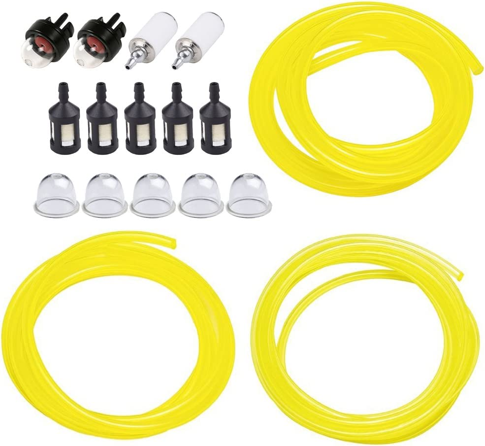 Chainsaws Fuel Filter Line Primer Bulbs Kit Parts Replace For Poulan Weedeater