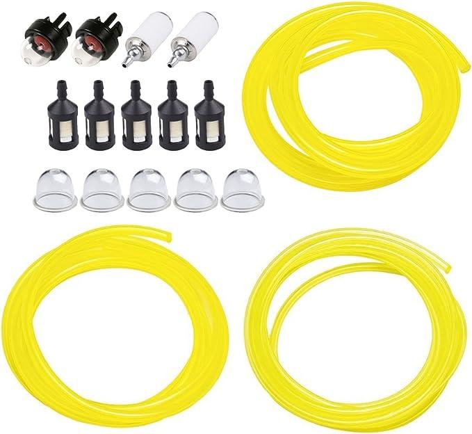 Brush Cutter Fuel Hose Pipe Filter Fit For ZAMA STIHL POULAN HUSQVARNA 10pcs//lot