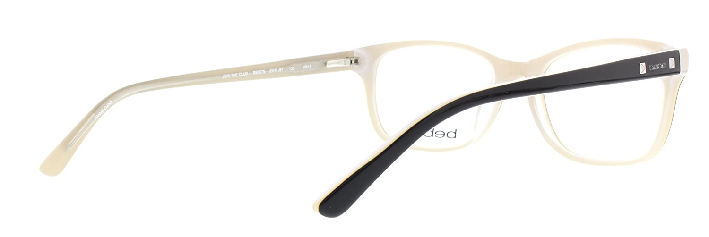 0b06d9f030d BEBE Eyeglasses BB5075 001 Jet 52MM at Amazon Men s Clothing store