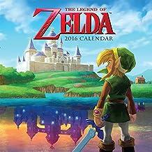 The Legend of Zelda 2016 Wall Calendar
