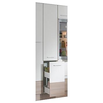 Hochschrank küche weiß  ROLLER Hochschrank mit Apothekerauszug Pina, weiß: Amazon.de: Küche ...