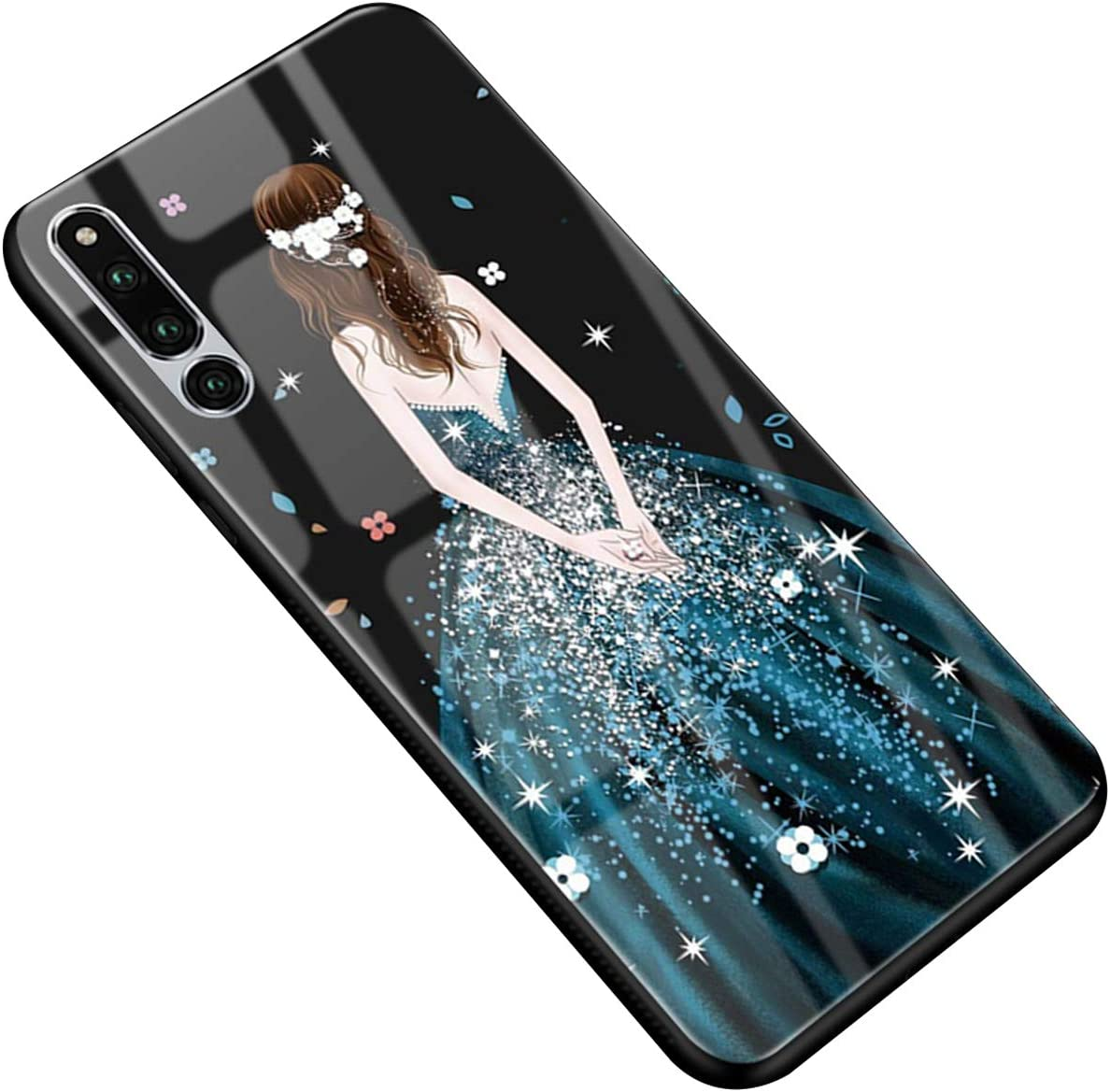 SDB Huawei Honor Magic 2 Caja de Cristal Templado Vestido de Novia ...