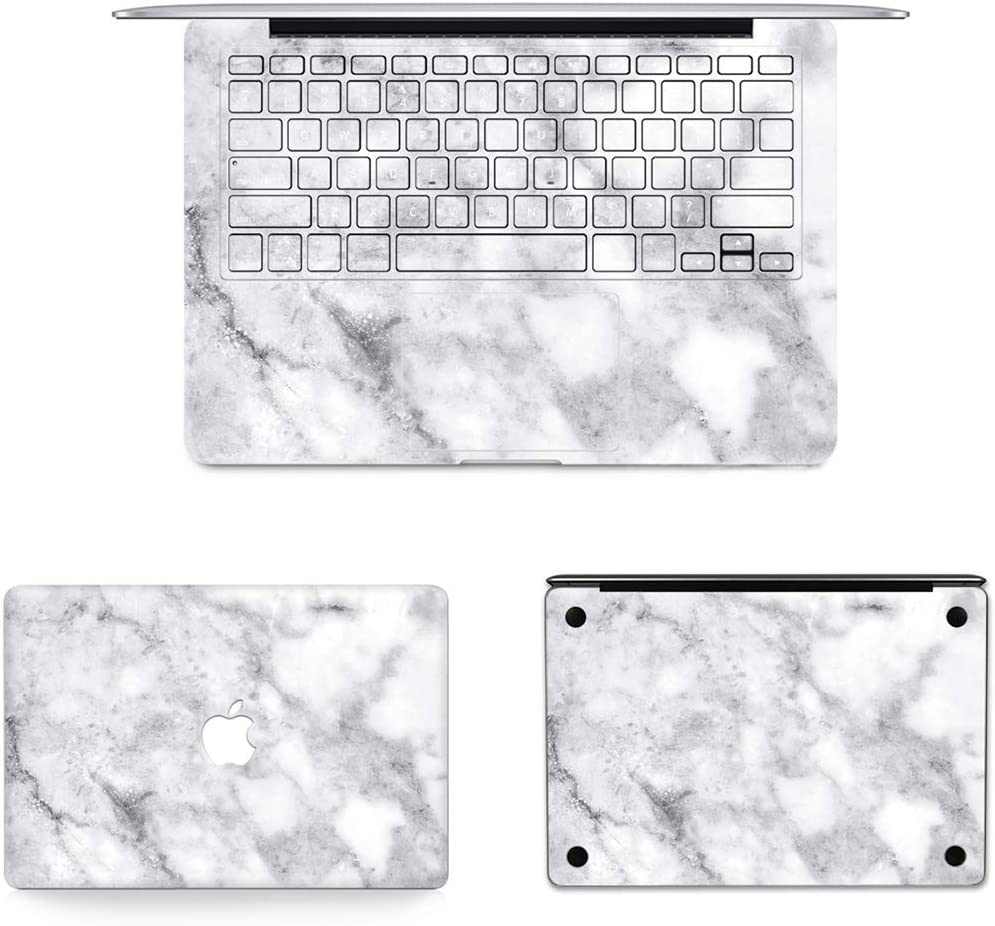 2012-2013 Full Top Protective Film JIN Suitable for Mac 3 in 1 MB-FB16 Full Keyboard Protector Film 2013-2015 747 // A1425 Bottom Film Set for MacBook Pro Retina 13.3 inch A1502 US Versi