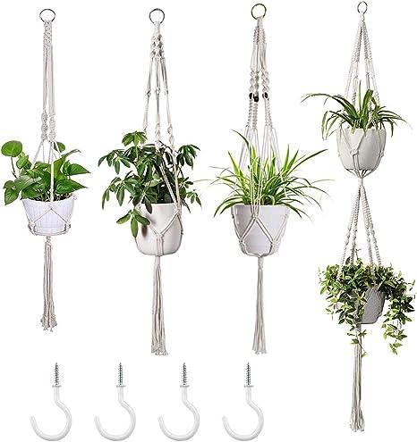 Indoor Plant Pot Hanger Macrame Handmade Hangers Home Accessory Garden Decor DIY