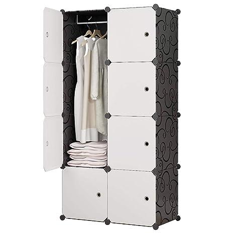 Amazon.com: Kousi YG-12 - Armario portátil para ropa: Home ...