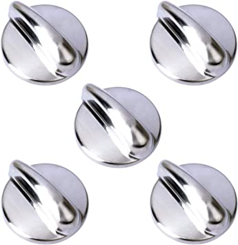 4 Pack Replacement Surface Burner Control WB03K10303 Range Oven Control Knob for General Electric PGB900SEM1SS Gas Range Stove