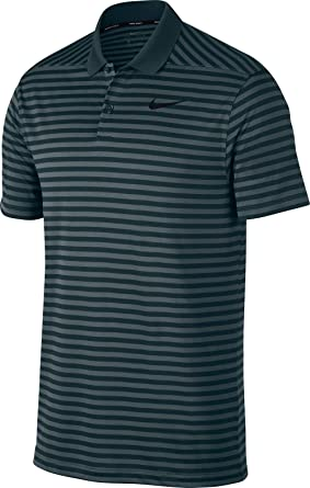 11400b3e0 Amazon.com: Nike Men's Dri Fit Victory Stripe LC Golf Polo: Clothing
