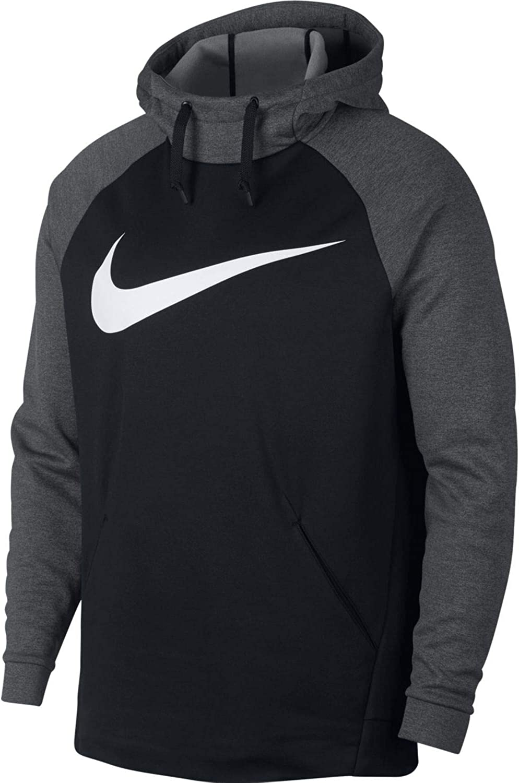 Nike Mens Dri-Fit Therma-Fit Big Swoosh Pull Over Hoodie Sweatshirt 933432  852