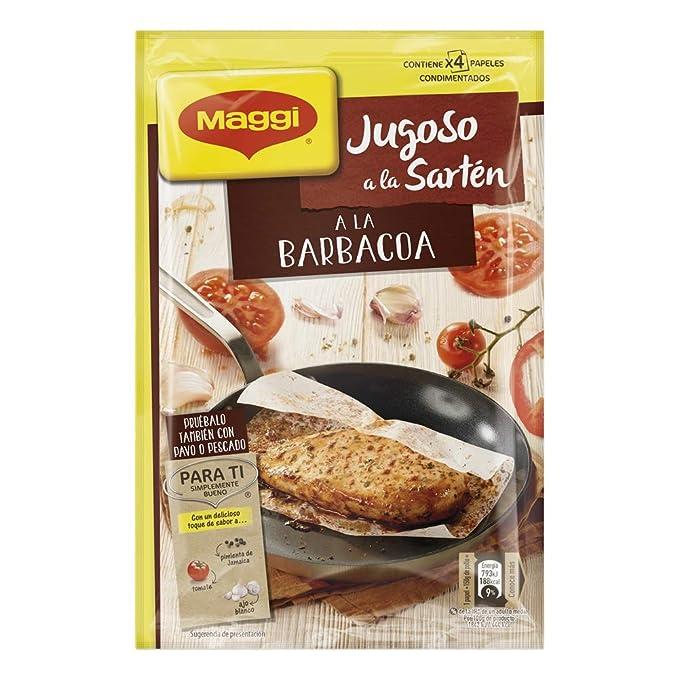 MAGGI Jugoso a la Sartén a la Barbacoa - Papel Condimentado - 24,4g: Amazon.es: Alimentación y bebidas