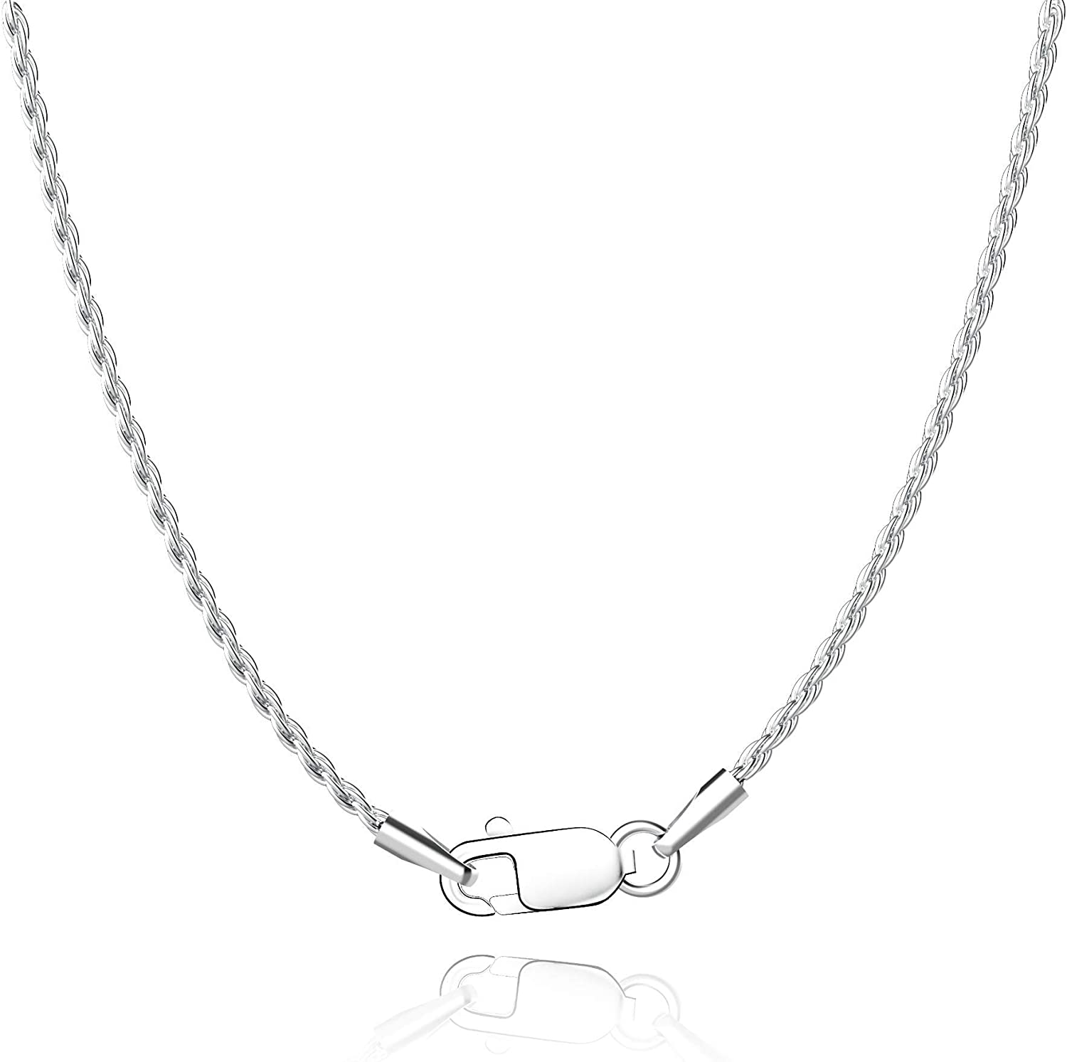 Collection The Pendant Necklaces Silver Plated Shine Hoop Link Designer Handmade Chain Necklaces Gifts for her V