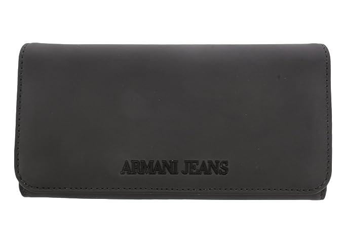 Armani - Cartera para mujer de Poliéster Mujer negro Talla única: Amazon.es: Ropa y accesorios