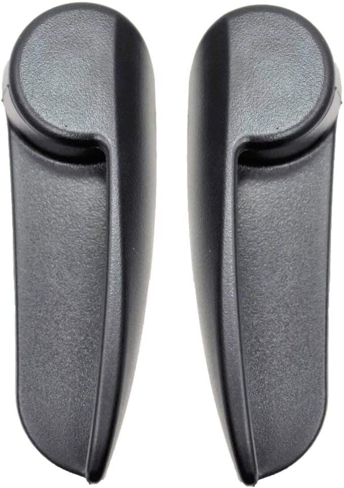 Inside Interior Inner Door Handle PT Auto Warehouse TO-2562A-1LH Black Driver Side